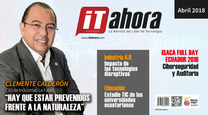 Revista IT ahora- abril: sector industrial y educación
