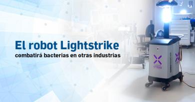 El robot Lightstrike combatirá bacterias en otras industrias