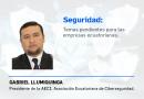 Seguridad: temas pendientes para las empresas ecuatorianas.