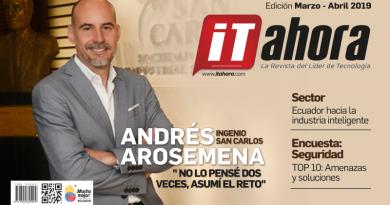 Revista IT ahora marzo – abril: Sector Industria Inteligente