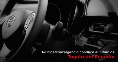 La hiperconvergencia conduce el futuro de Toyota del Ecuador