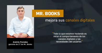 Mr. Books mejora sus canales digitales