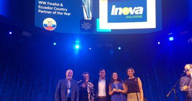 Inova Solutions obtuvo un reconocimiento a nivel mundial