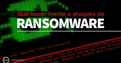 Qué hacer frente a ataques de ransomware