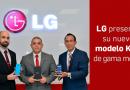 LG presentó su nuevo modelo K40 de gama media