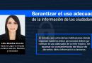 Garantizar el uso adecuado de la información de los ciudadanos