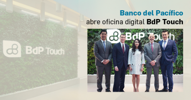 Banco del Pacífico abre oficina digital BdP Touch