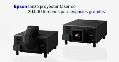 Epson lanza proyector láser de 20.000 lúmenes para espacios grandes