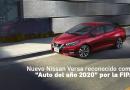 """Nuevo Nissan Versa reconocido como """"Auto del año 2020"""" por la FIPA"""