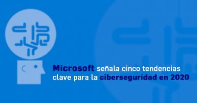 Microsoft señala cinco tendencias clave para la ciberseguridad en 2020
